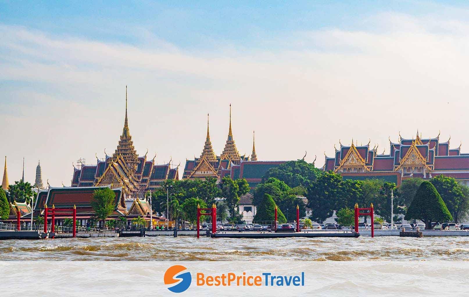 Du thuyền trên dòng sông huyền thoại Chao Phraya