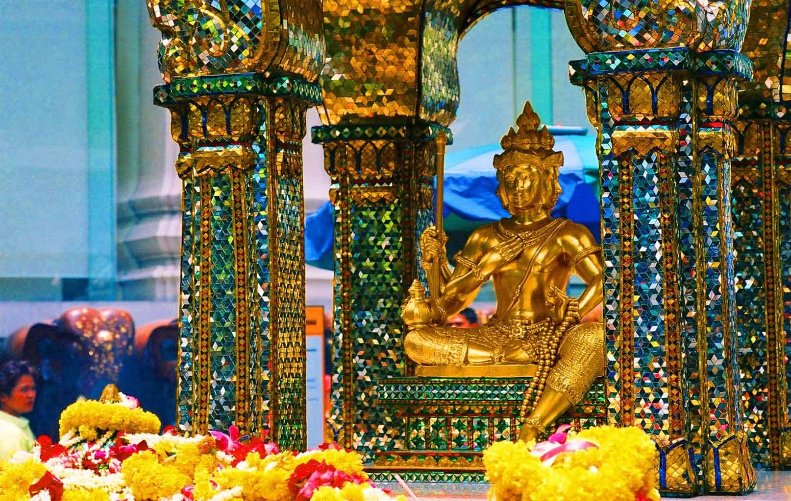 Đền thờ Phật 4 mặt linh thiêng Erawan