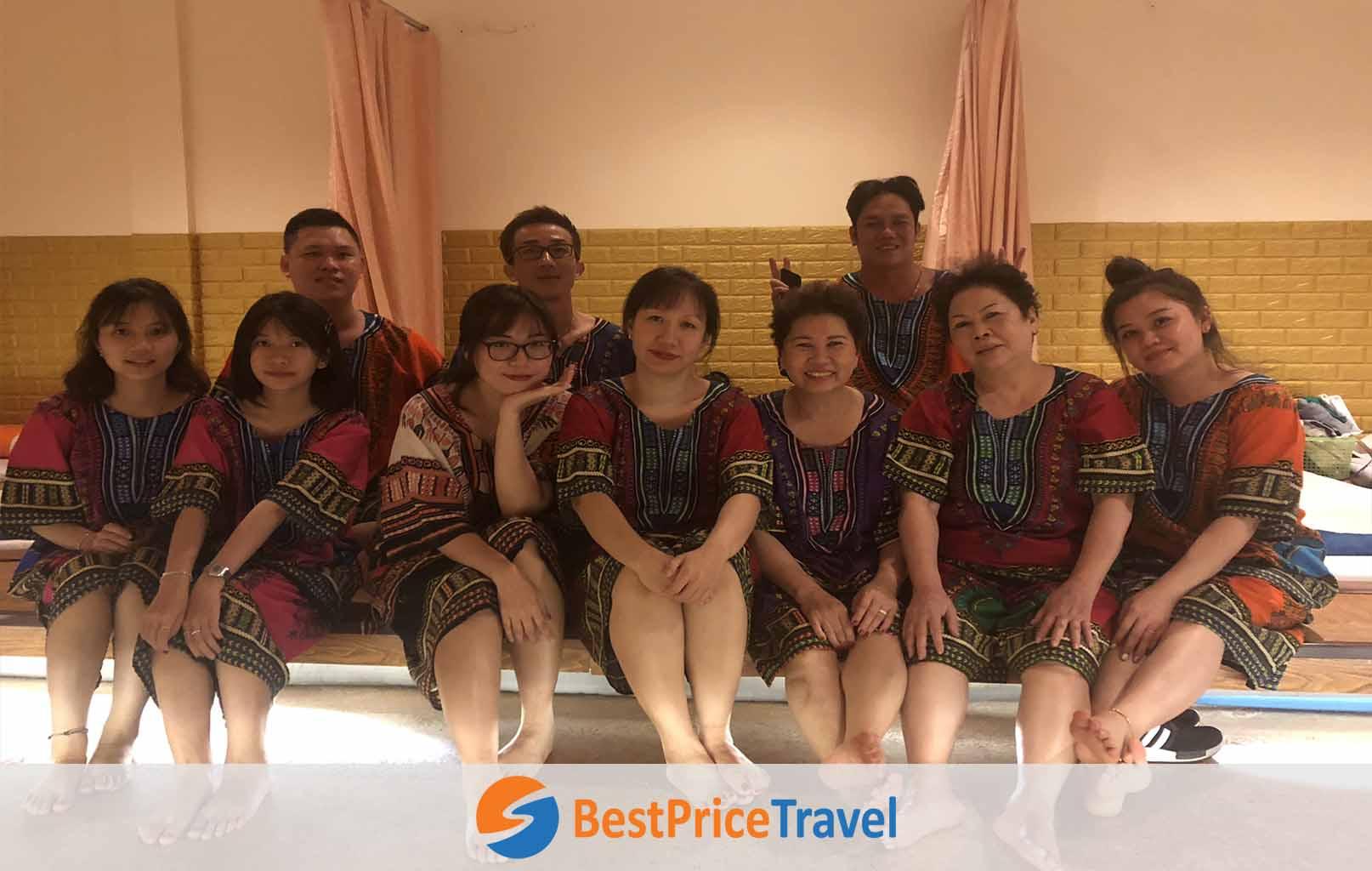 Quý khách được tặng 1 tiếng Massage Thái cổ truyền