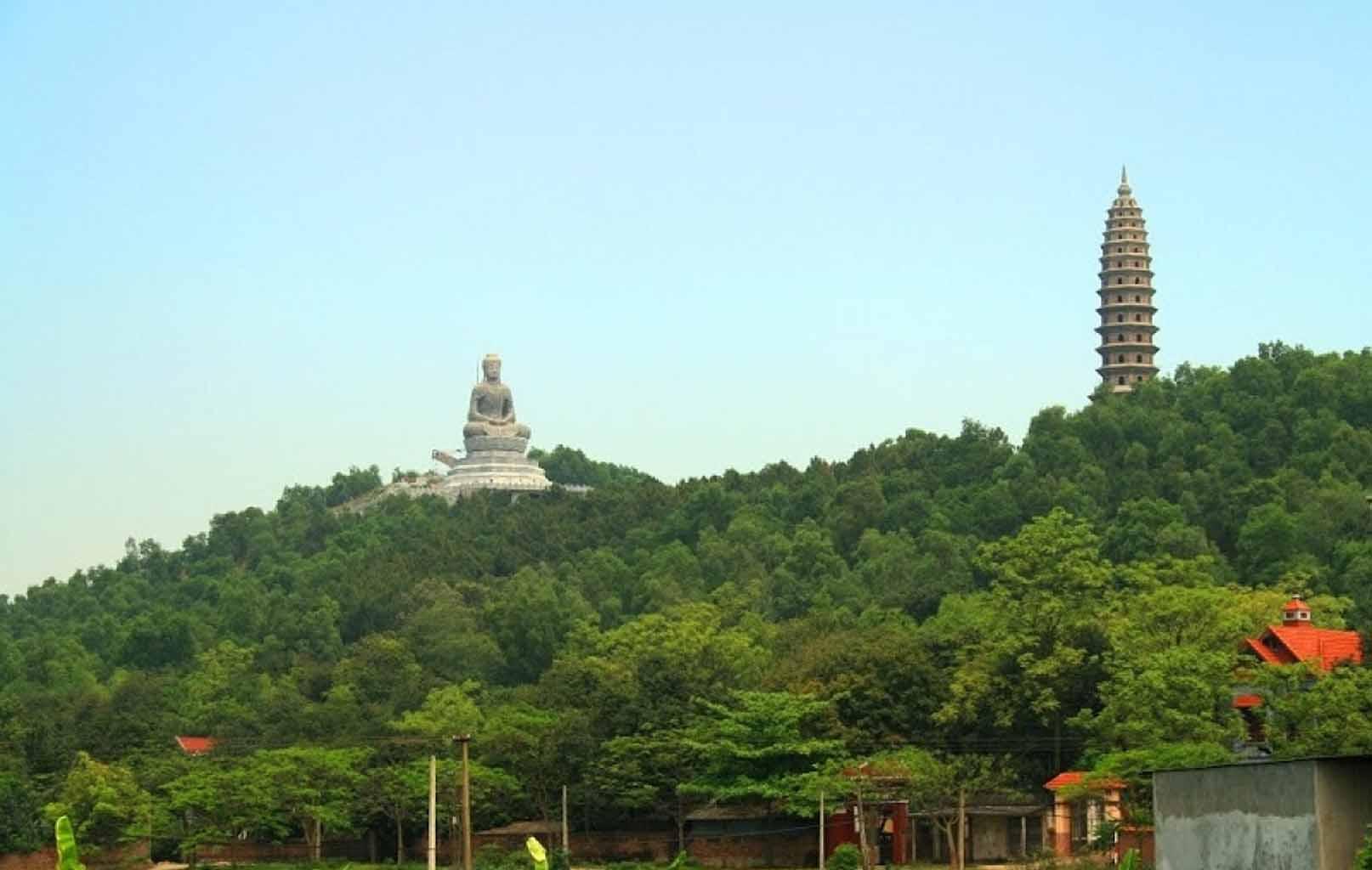 Hình ảnh Chùa Phật Tích Nhìn Từ Xa