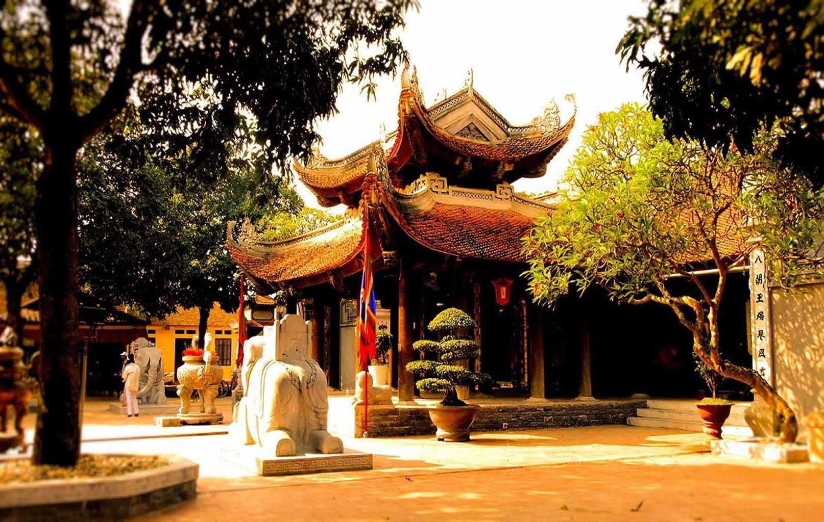 Phương Đình, Đền Đô