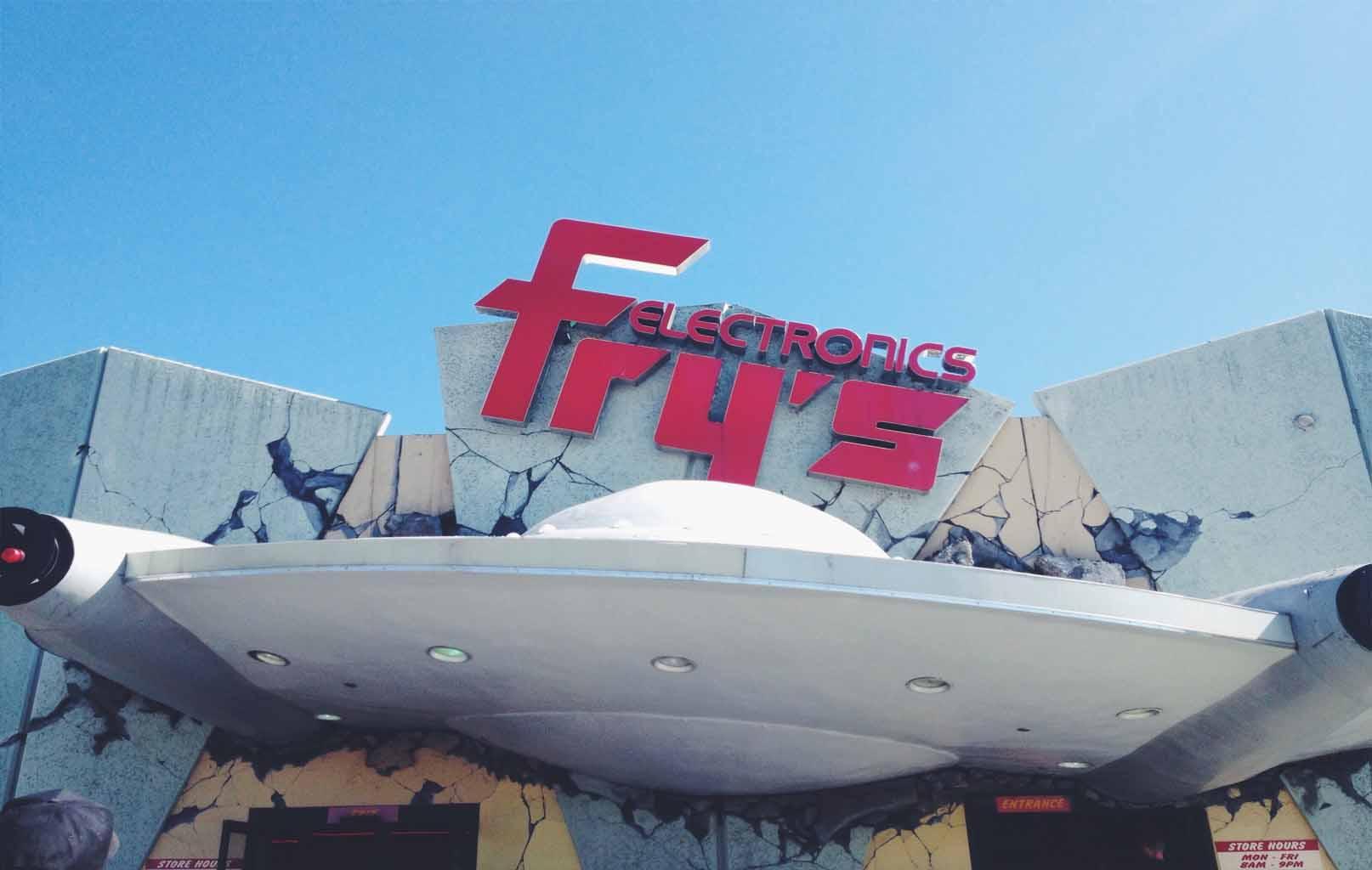 Mua sắm tại Fry's Electronics