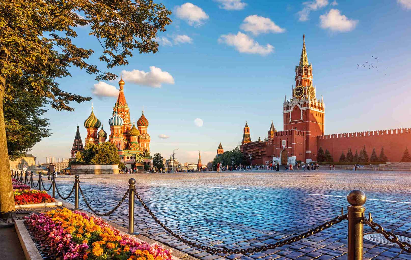 Khám phá nước Nga: Matxcova - St. Petersburg