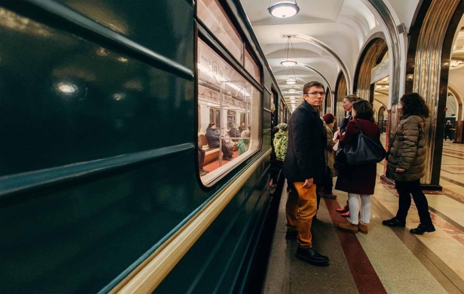 Ga tàu điện ngầm Matxcova