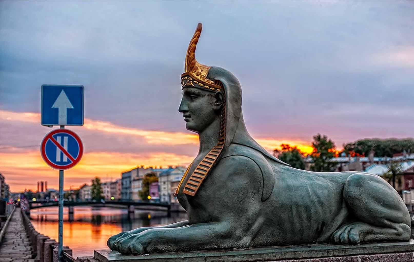 Tượng Nhân Sư Ai Cập 3000 năm tuổi