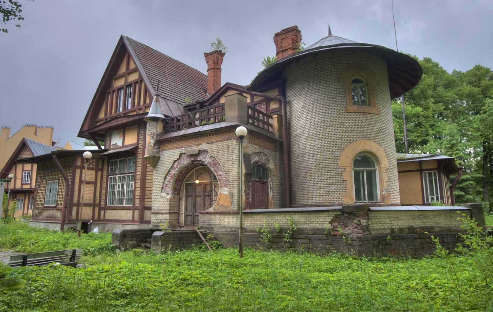 Dacha house (Datra) - Khu nhà nghỉ ở ngoại ô