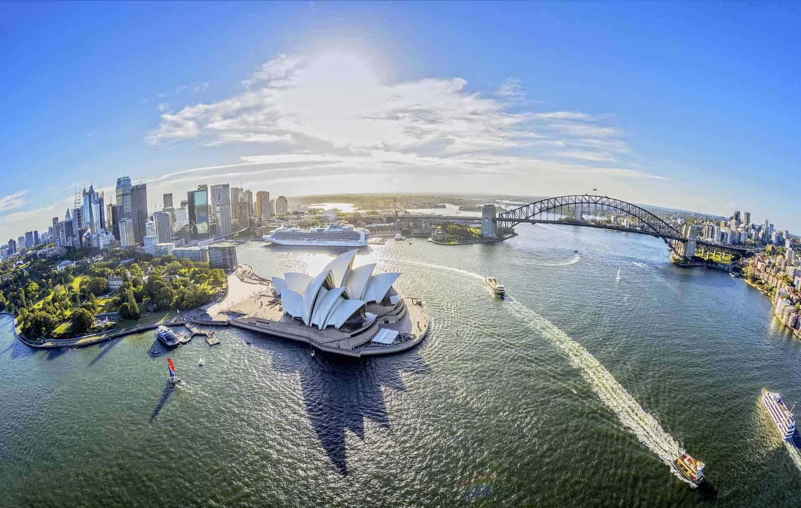 Úc 7N6Đ: Sydney – Canberra – Melbourne